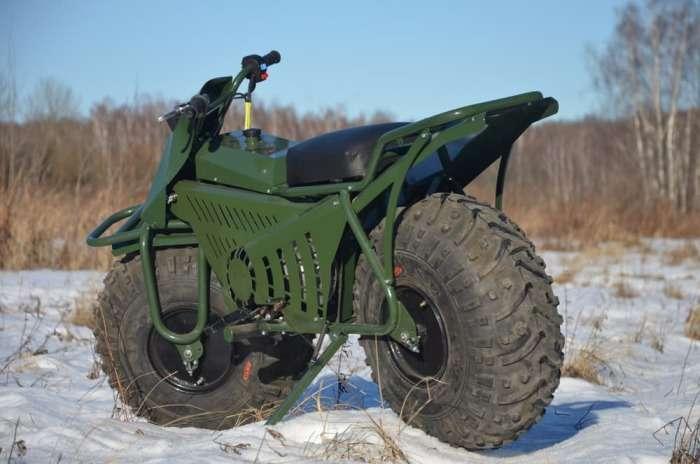 Мотоцикл-вездеход