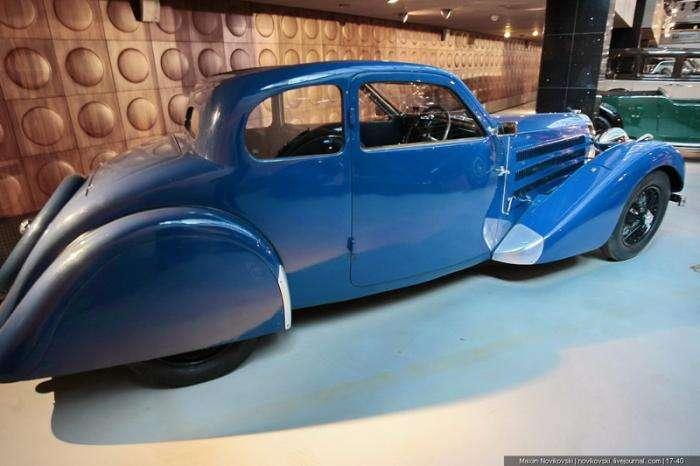 Классика компании Bugatti - Type 57 (20 фото)