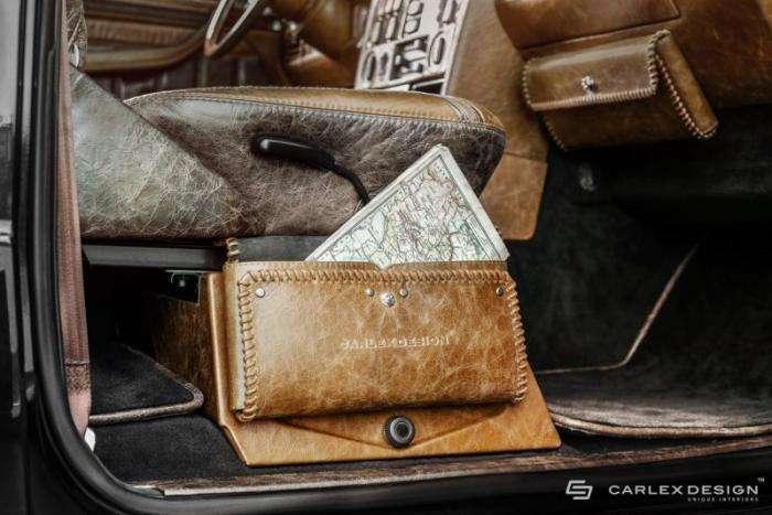 Шикарный винтажный салон для Mercedes-Benz G-Class (15 фото)
