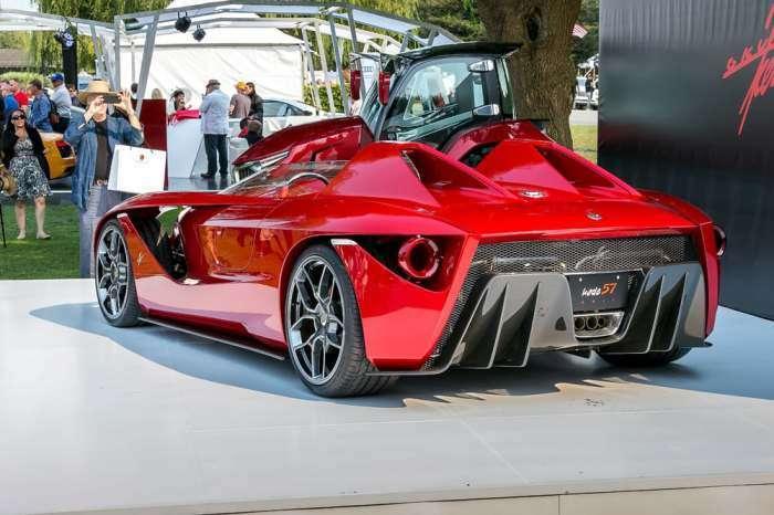 Почти Ferrari, или уникальный дизайнерский суперкар Kode57