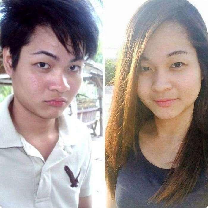 До и после: трансгендеры всего мира поделились в соцсетях фотографиями своих трансформаций (17 фото)