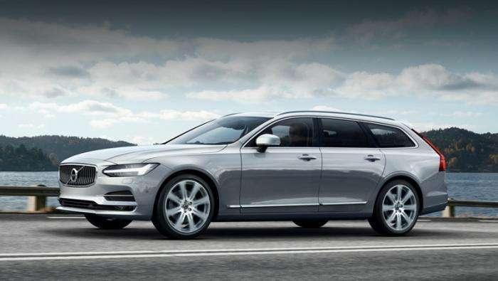 Новая модель Volvo V90 порадовала не только обликом (12 фото + видео)
