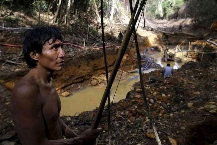 Гаримпейрос — нелегальные золотодобытчики