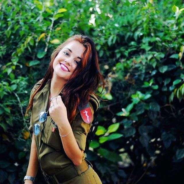 Красавицы израильской армии (47 фото)