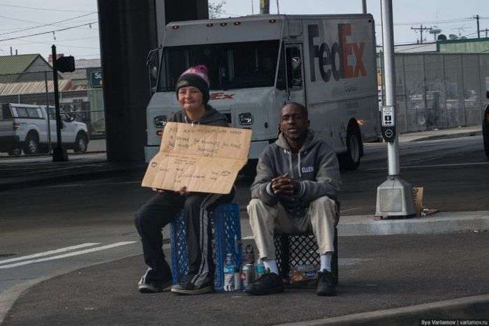 Сиэтл - столица бездомных США (44 фото)