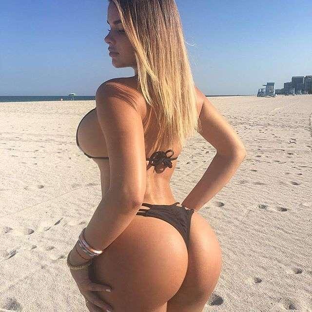 22-летняя москвичка Анастасия Квитко стала «русской Ким Кардашьян» (35 фото)