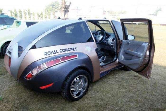 Пародия на Bugatti Veyron из Индии (20 фото)