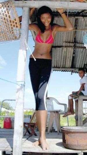 Самая высокая девушка в мире (7 фото)