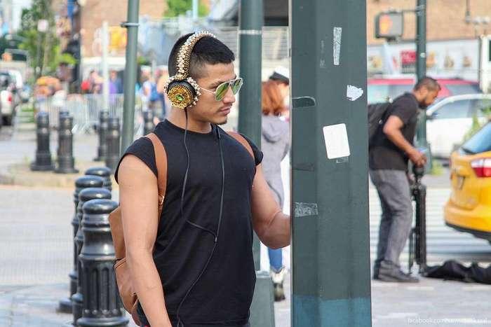 Жители города Нью-Йорка (много фото)