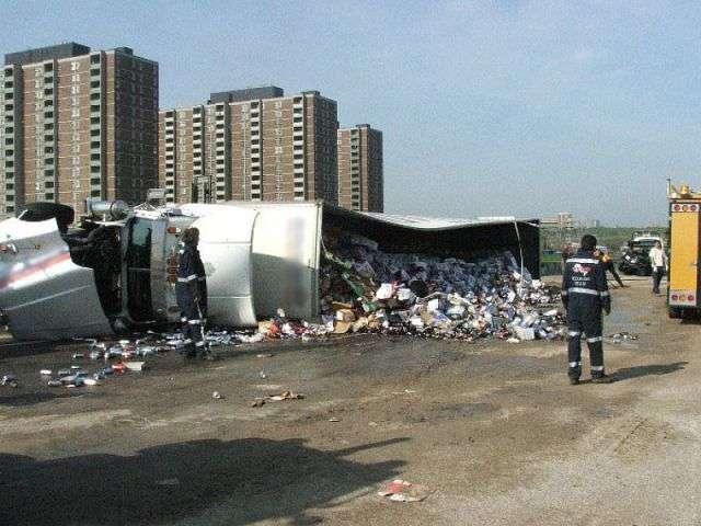Аварии с грузовиками (51 фото)