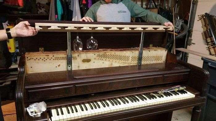 Маленькое пианино своими руками 98