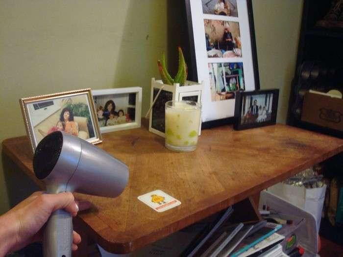13 бытовых проблем, которые можно решить с помощью фена