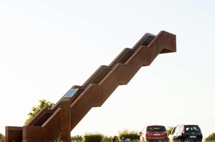 Бросая вызов законам гравитации: смотровая башня