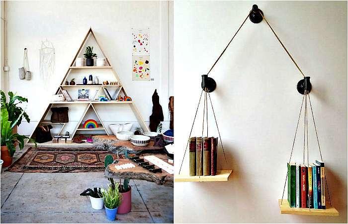 19 оригинальных полок и стеллажей, которые станут настоящими украшениями стен