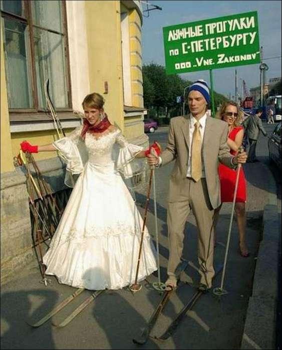 17 очень экстравагантных свадебных кортежей для молодоженов, которые не терпят банальности