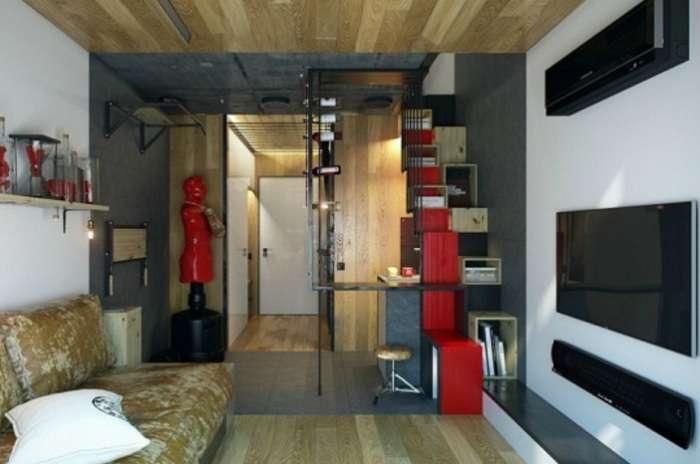 Полноценная квартира в Харькове площадью всего 18 кв. метров