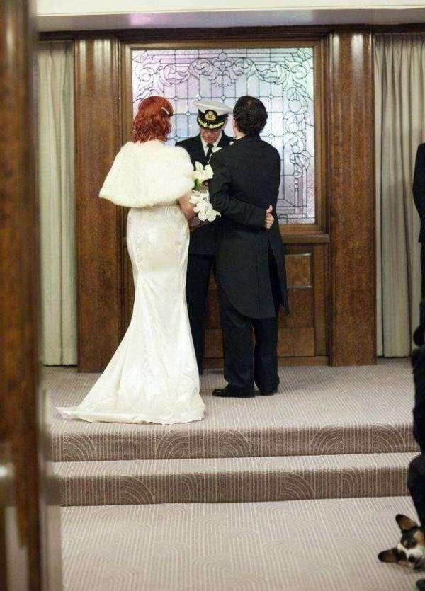 Фотобомберы портят свадебные фотки (47 фото)