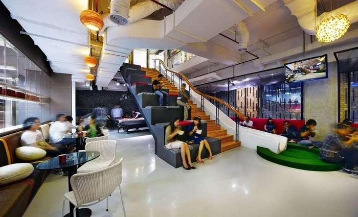 15 самых креативных офисных пространств мира