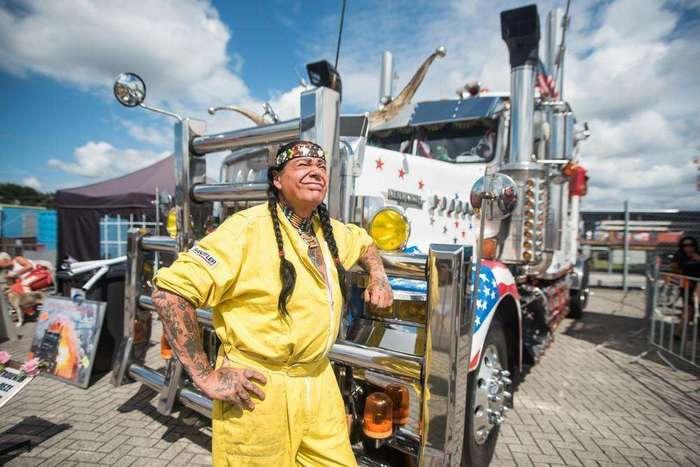 Как проходил крупнейший в Европе фестиваль грузовиков