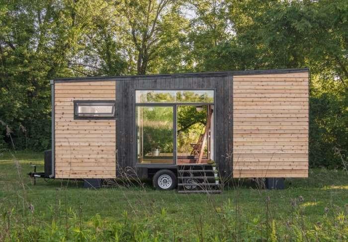 Домик площадью всего 22 кв. метров, который можно взять с собой в путешествие