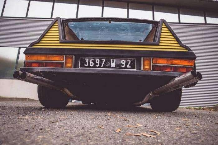 Потрясающий хипстерский Citroen SM Proto Michelin 1972 (10 фото)