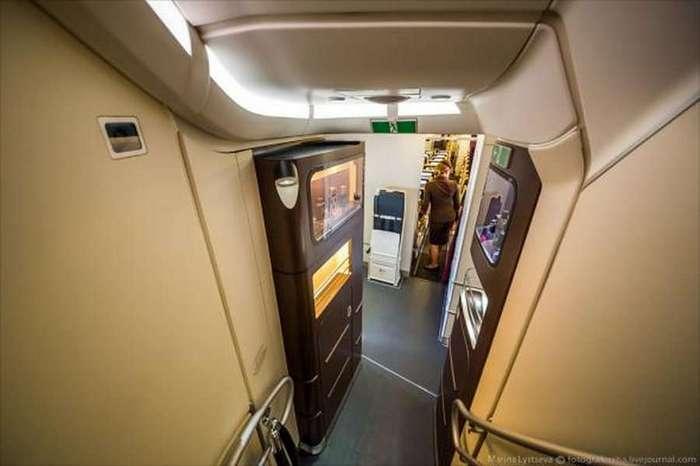 Путешествие на борту самого шикарного самолёта в мире