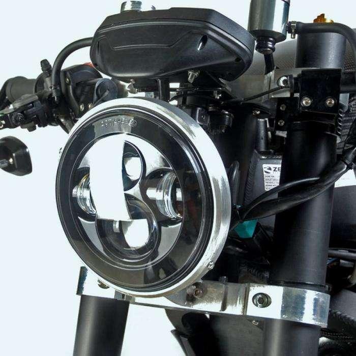 White Collar Bike - электрический кастом Zero SR (10 фото)