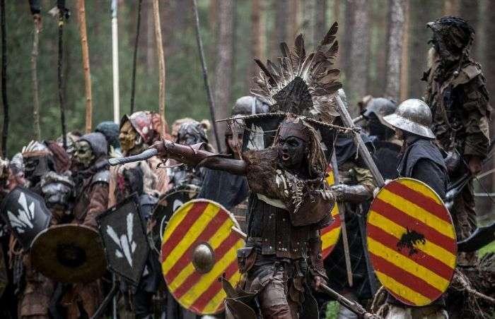 Массовое сражение фанатов «Хоббита» в чешском лесу