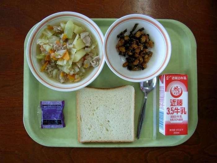 Что едят школьники на обед в разных странах