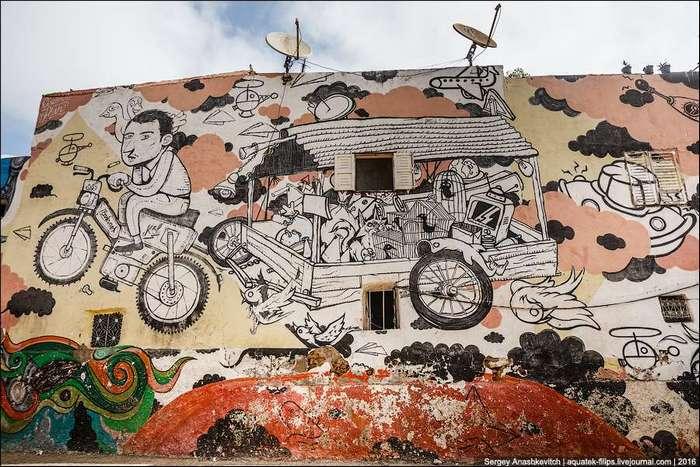 Крутые граффити Касабланки