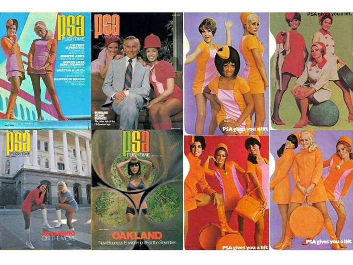 Стюардессы 60-х должны были быть сексуальными и одинокими