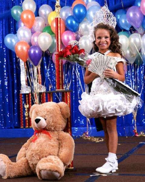 Конкурс детской красоты (12 фото)