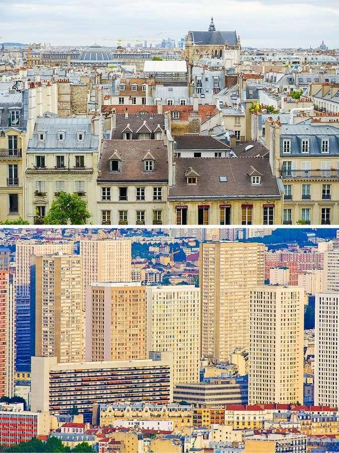 Города, на которые стоит посмотреть с двух разных сторон