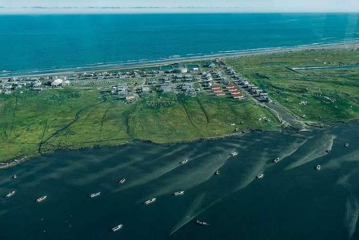 Будни деревни Шишмарёва на Аляске