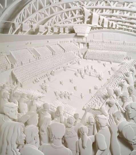 Поразительные скульптуры из бумаги (13 фото)