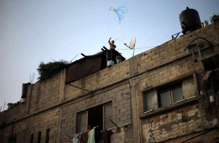 Кадры повседневной жизни в Палестине