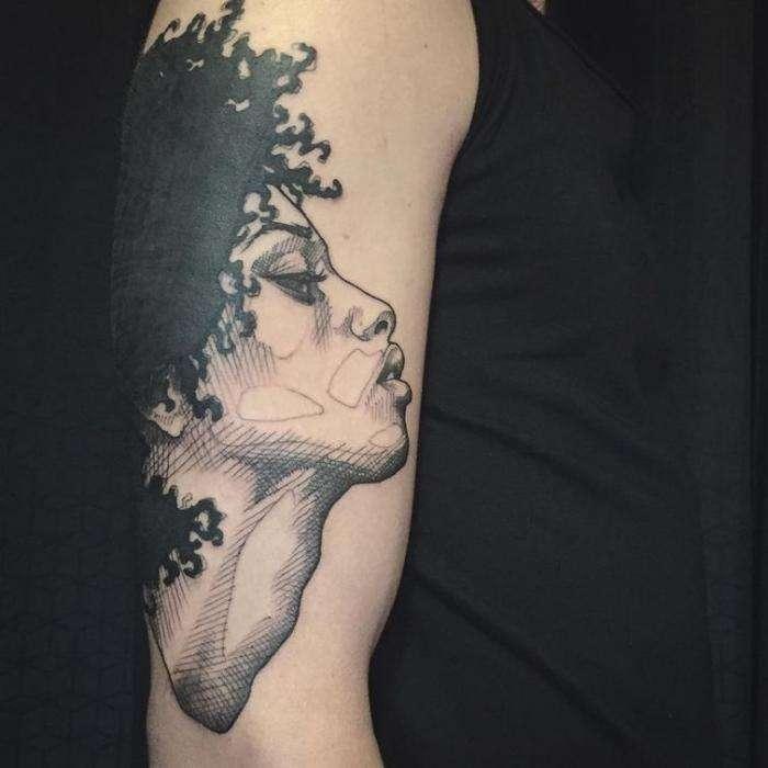 Творческие и изящные татуировки, сделанные в виде эскизов (20 фото)