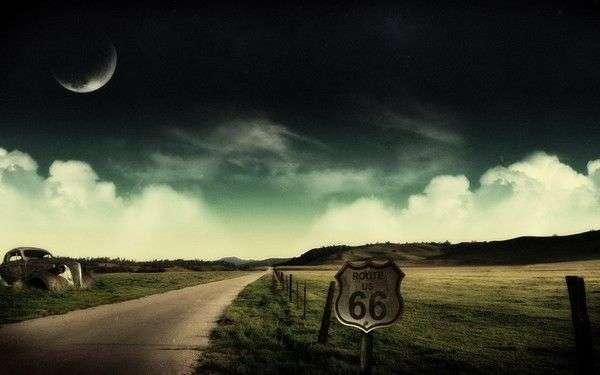 Легедны трассы 66 (7 фото)