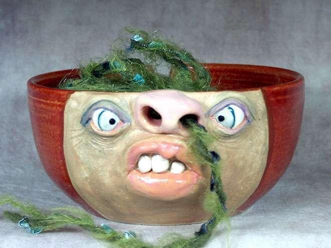 «Дикая, но симпатишная» посуда из керамики, которая оживит ваш дом