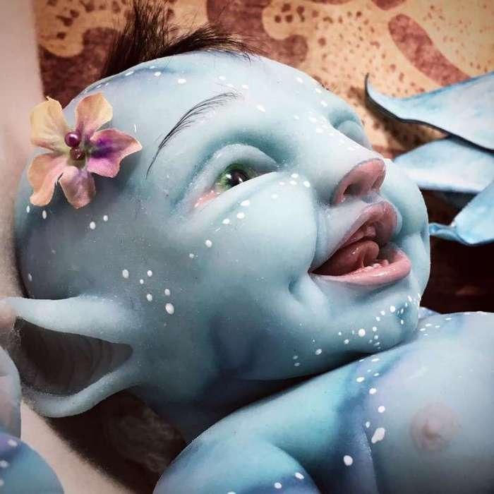 Эти жутко-реалистичные куклы способны испугать не только детей