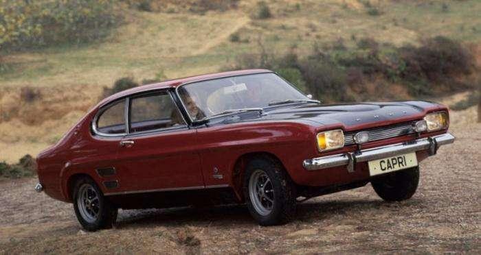 Ford Capri – европейский пони-кар (9 фото)