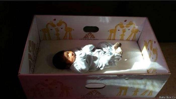 Финские коробки для младенцев завоевывают мир (12 фото)