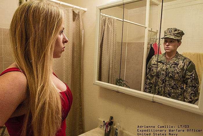 Реальные люди, в людях в военной форме (23 фото)