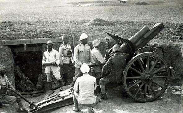 Как англичане победили турков, используя их вредные привычки