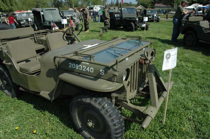 Легенды Второй мировой войны: внедорожник Willys MB