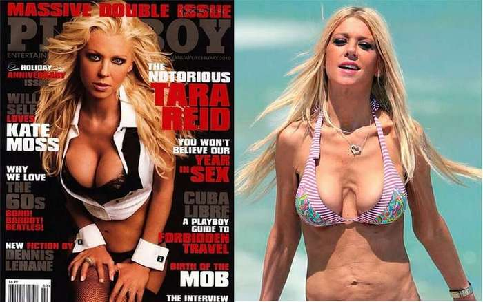 Звезды на журнальных обложках и в реальной жизни