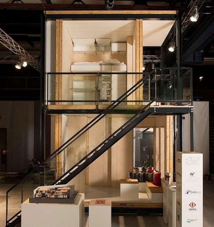 В Нидерландах прошел конкурс на лучший проект дома для беженцев