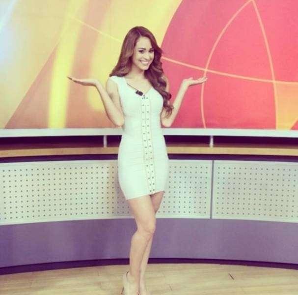 Ведущая прогноза погоды Янет Гарсия покорила сердца миллионов зрителей