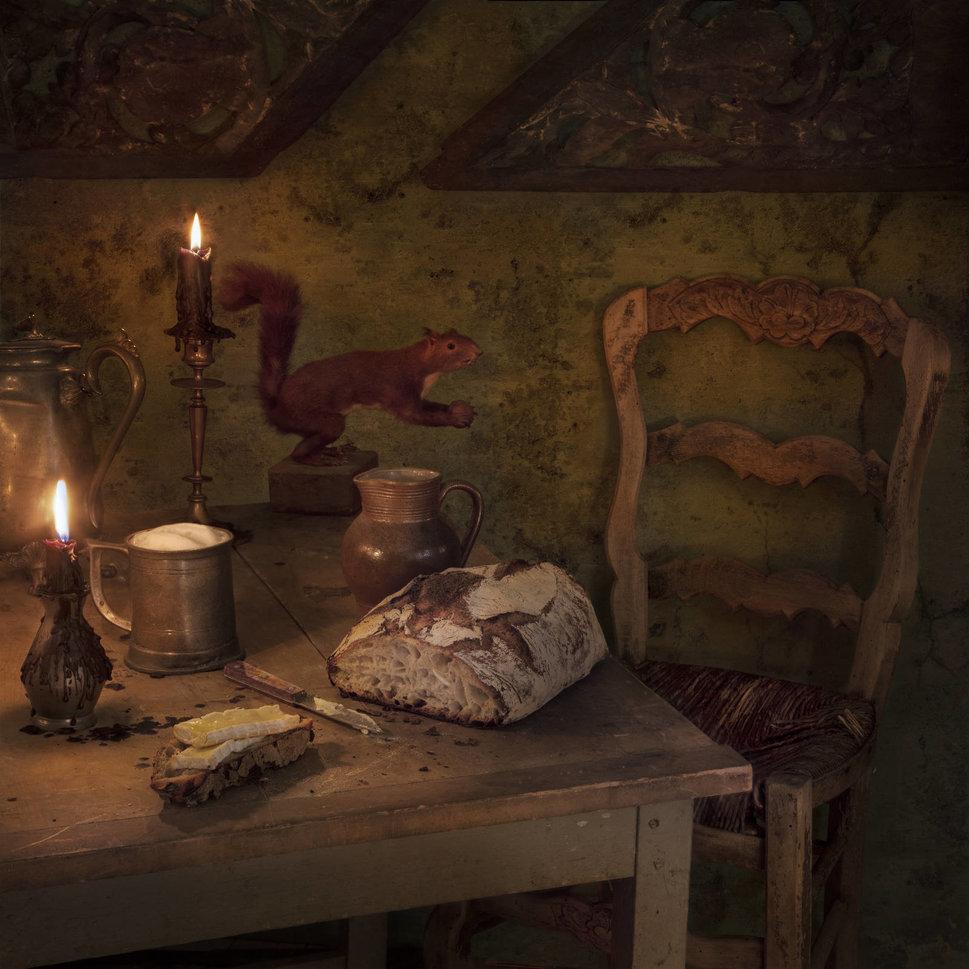 Фотограф воссоздает пиры, описанные на страницах известных литературных произведений