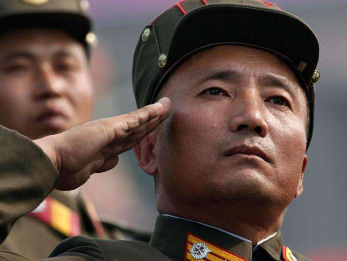 Военный парад в Северной Корее (30 фото)